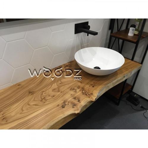 Столешница в ванную из карагача - Model 200