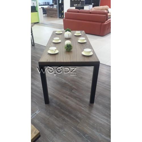 Обеденный стол из слэба в стиле лофт