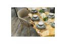 Обеденный стол из слэба тополя с верхним покрытием - Model 107