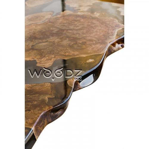 Обеденный стол из массива карагача - Model 3551