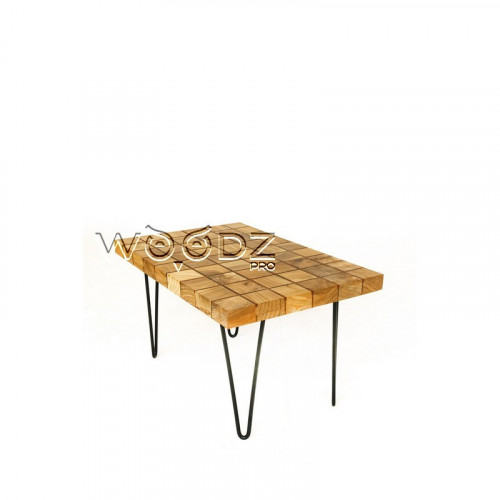 Прямоугольный журнальный столик из карагача