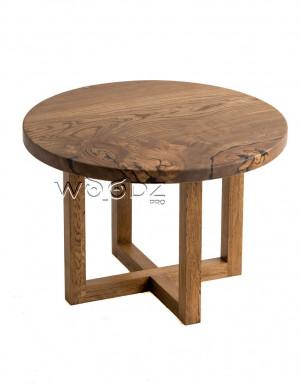 Стол обеденный из слэба карагача