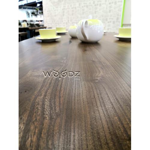 Прямоугольный стол из слэба карагача