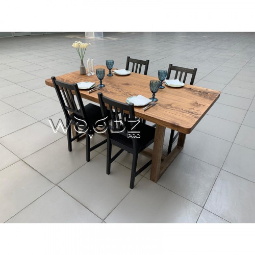 Обеденный стол из карагача - Model 2063