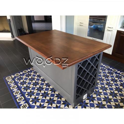 Кухонный остров из дуба - Model 208