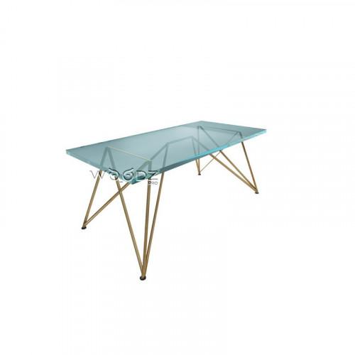 Металлическая прутка для обеденного стола