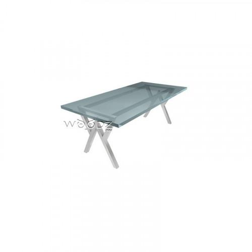 Металлическая опора для стола в стиле лофт
