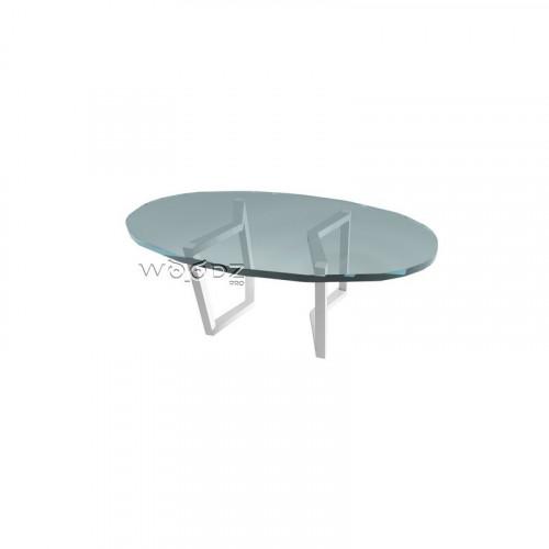 Подстолье из металла для овального стола