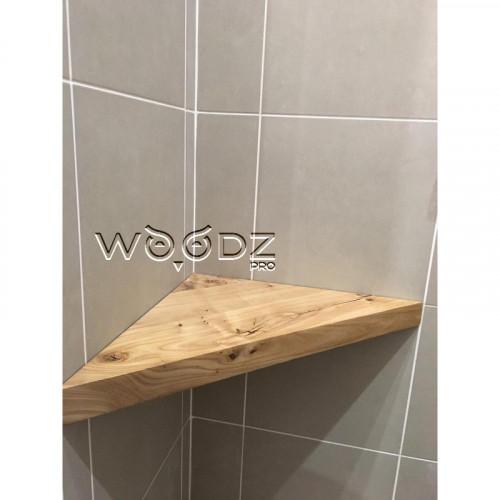 Полочка из карагача для ванной - Model 201